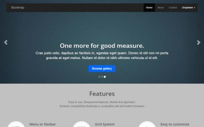 Free download Bootstrap asp templates