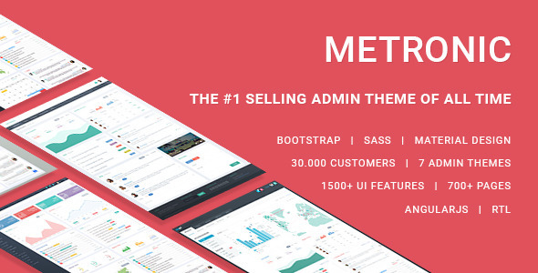 Metronic v4.5.4 – Responsive Admin Dashboard Template