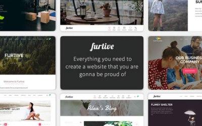 Furtive – Massive HTML5 Theme + Bonus