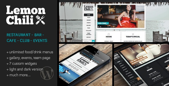 LEMONCHILI V2.02 – A RESTAURANT WORDPRESS THEME