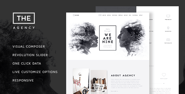 The Agency – Creative One-Page Agency Theme