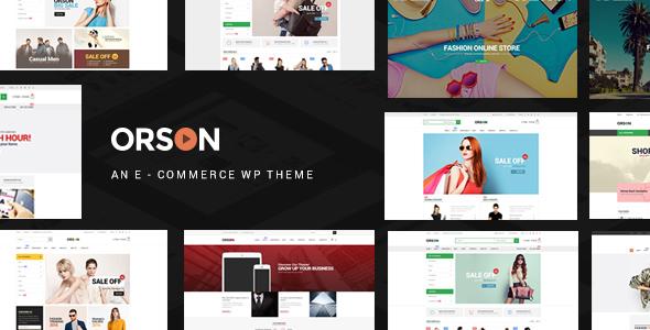 ORSON V1.8 – INNOVATIVE ECOMMERCE WORDPRESS THEME FOR ONLINE STORES