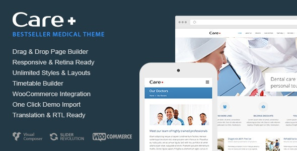 CARE V4.5.1 – MEDICAL AND HEALTH BLOGGING WORDPRESS THEME