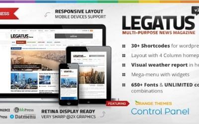 LEGATUS V1.2.7 – RESPONSIVE NEWS/MAGAZINE THEME