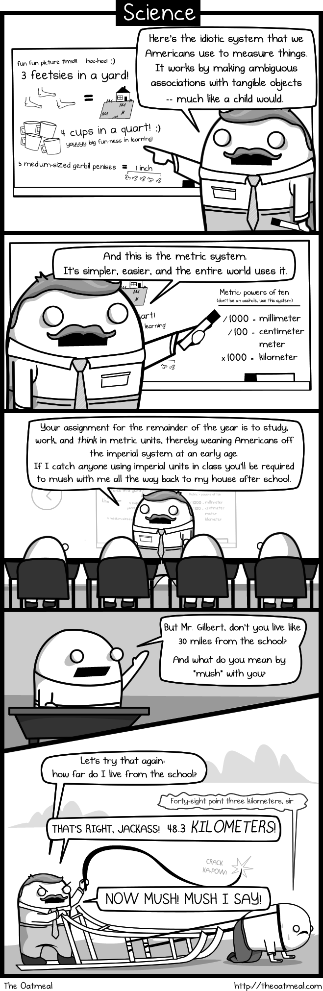 The Oatmeal webcomic
