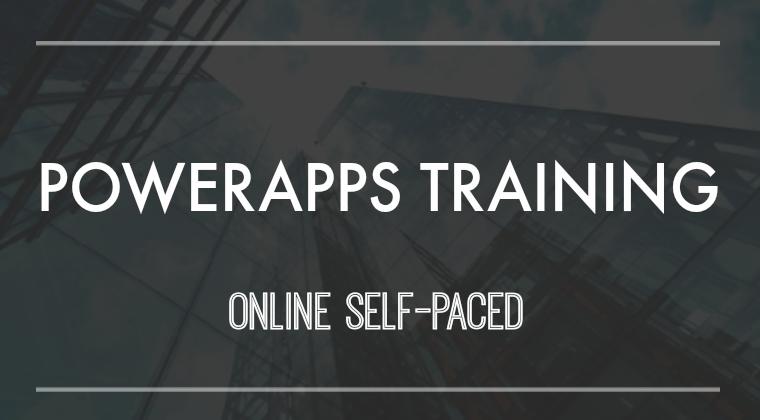 Powerapps Advanced Training
