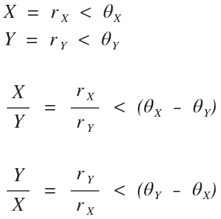 Complex Number How To's: Math & Converting Vectors and
