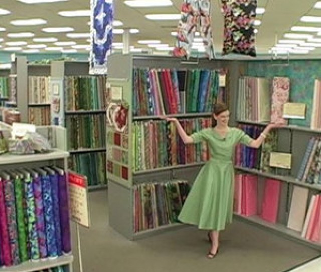 Video Visit A Fabric Store With Sew Stylish Magazine