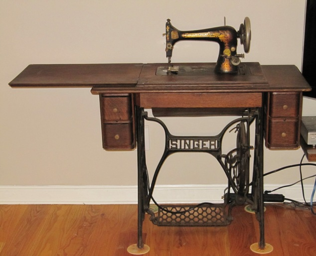 Old Sewing Machine Parts And Functions