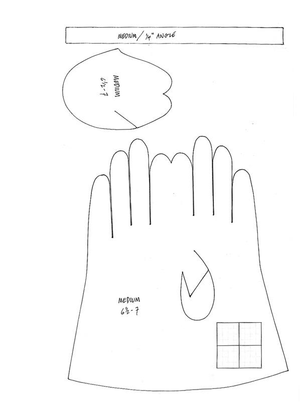 Gloves Sewing Pattern : gloves, sewing, pattern, Gorgeous, Glove, Pattern