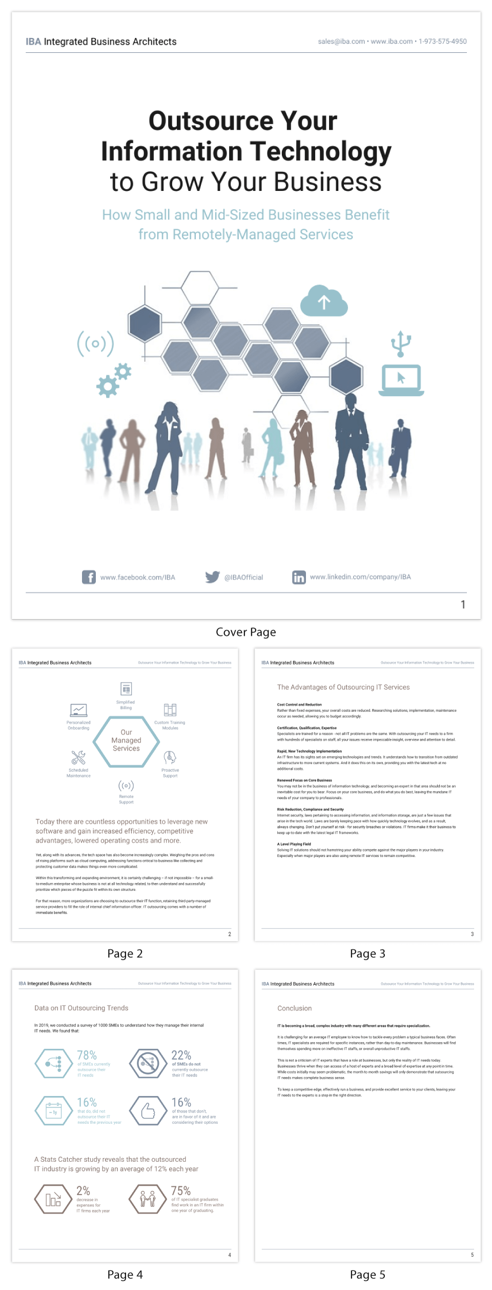 Simple Information Technology White Paper Template
