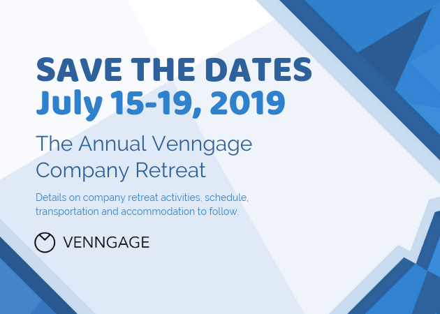 Our selection of invitations and announcements offers you a wide variety of styles to meet the needs of your company or organization. Save The Date Company Retreat Invitation Template