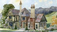 Southern Living House Plans | English Tudor House Plans