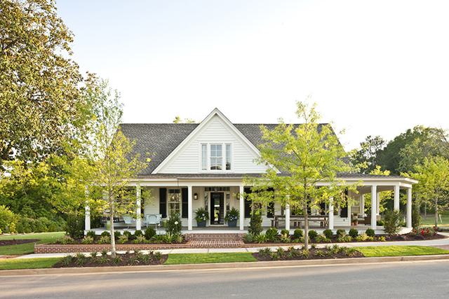 Farmhouse Revival Print Coastal Living House Plans