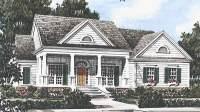 Southern Living House Plans | Greek Revival House Plans