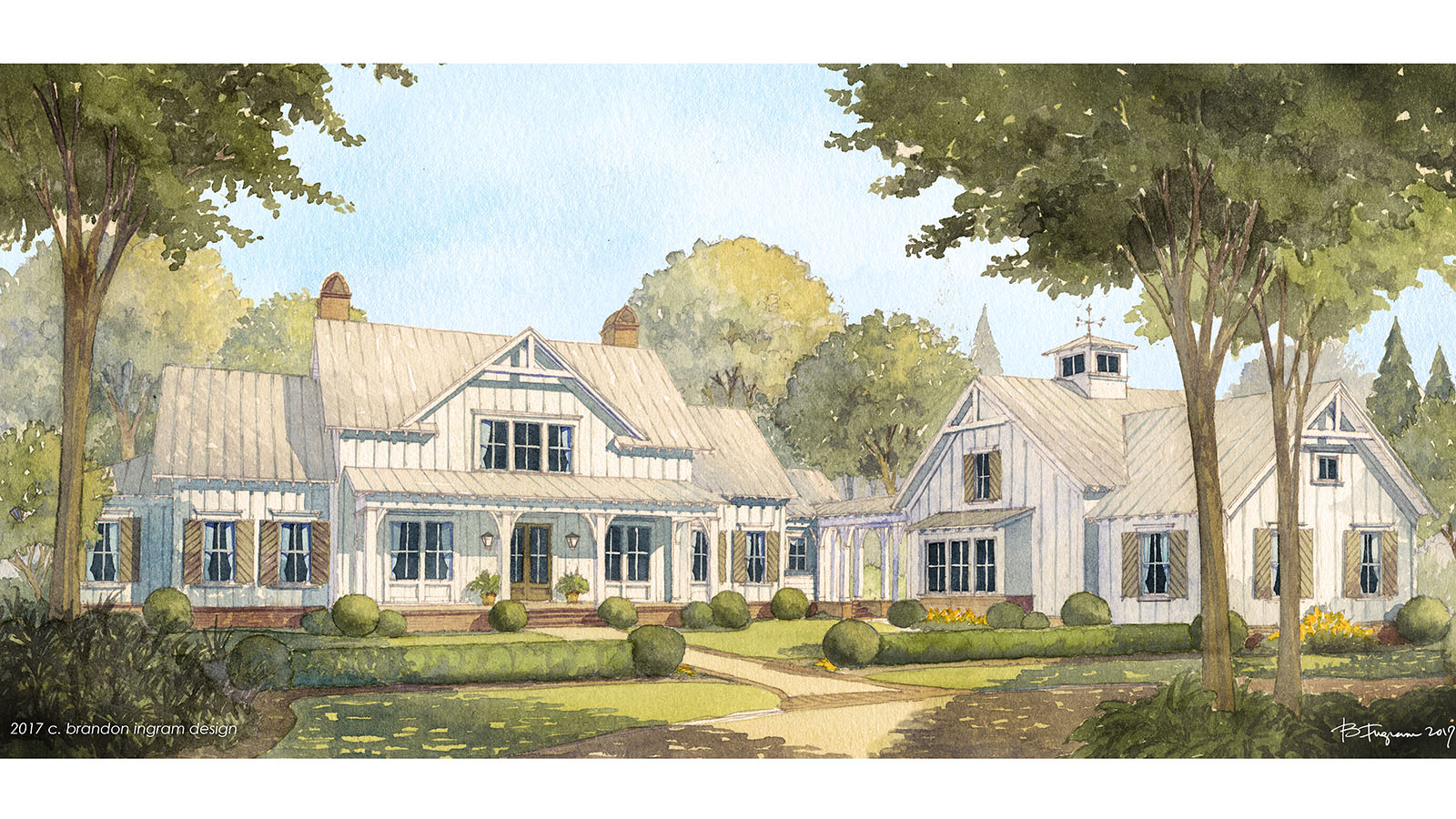 Cedar River House Southern Living Farmhouse Plans