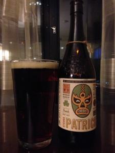 Beaus Strong Patrick Irish Red Ale