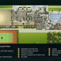Kitchen Stove Tops Cabinets Modern Virtual Tour Of 3 Navy Wharf Court, Toronto, Ontario M5v ...