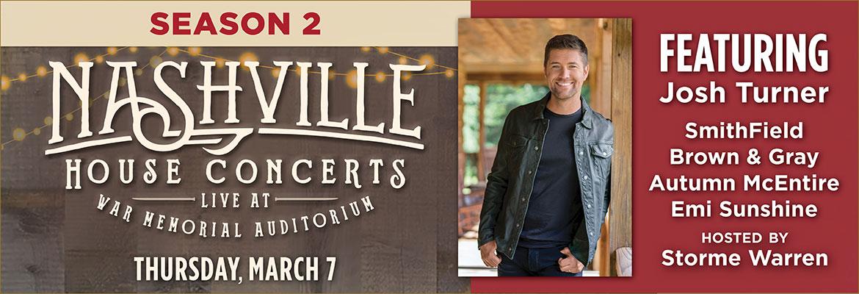 Nashville House Concerts March 2019 Josh Turner