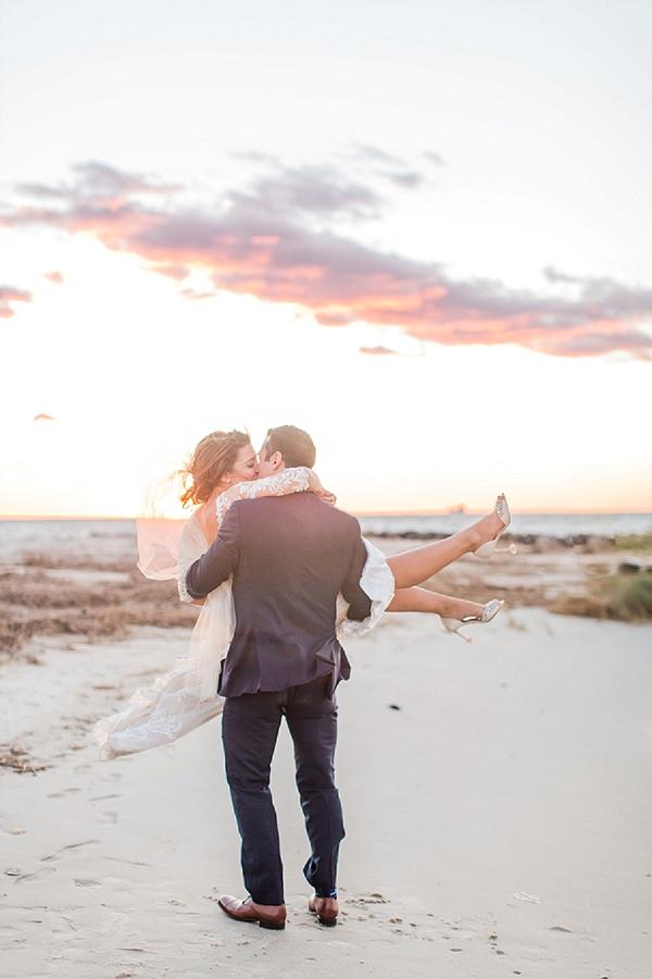 Romantic Coastal Wedding On The Eastern Shore Tidewater