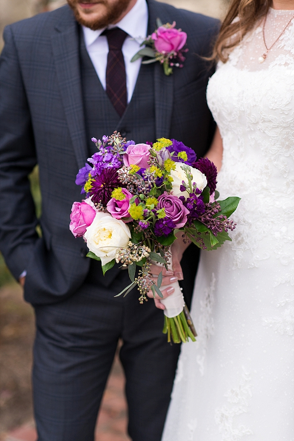 Rustic Jewel Toned Williamsburg Wedding Tidewater And