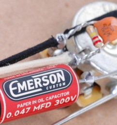 emerson custom telecaster 4 way prewired kit [ 1600 x 1031 Pixel ]