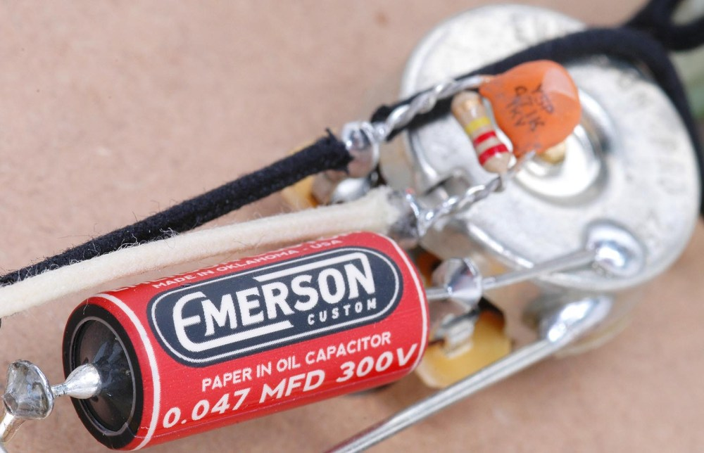 medium resolution of emerson custom telecaster 4 way prewired kit