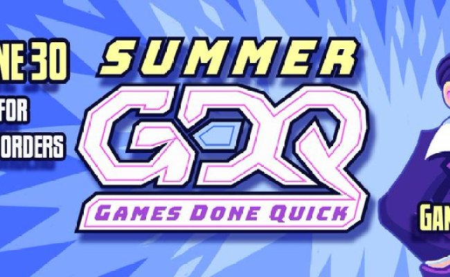 How To Watch Summer Games Done Quick 2019