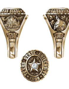 Share your ring design with friends and family also texas state university san marcos women   traditional rh balfour