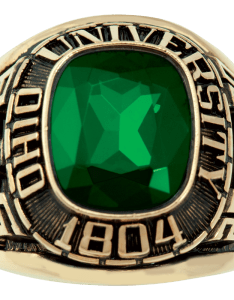 Share your ring design with friends and family also ohio university men   square traditional rh balfour