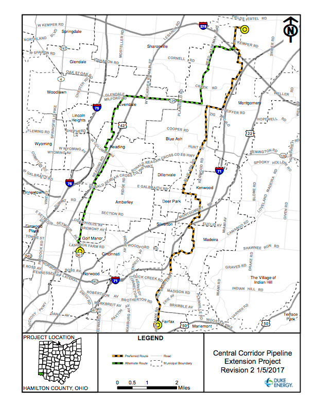 Duke Energy Moves Ahead with Ohio Gas Pipeline Application