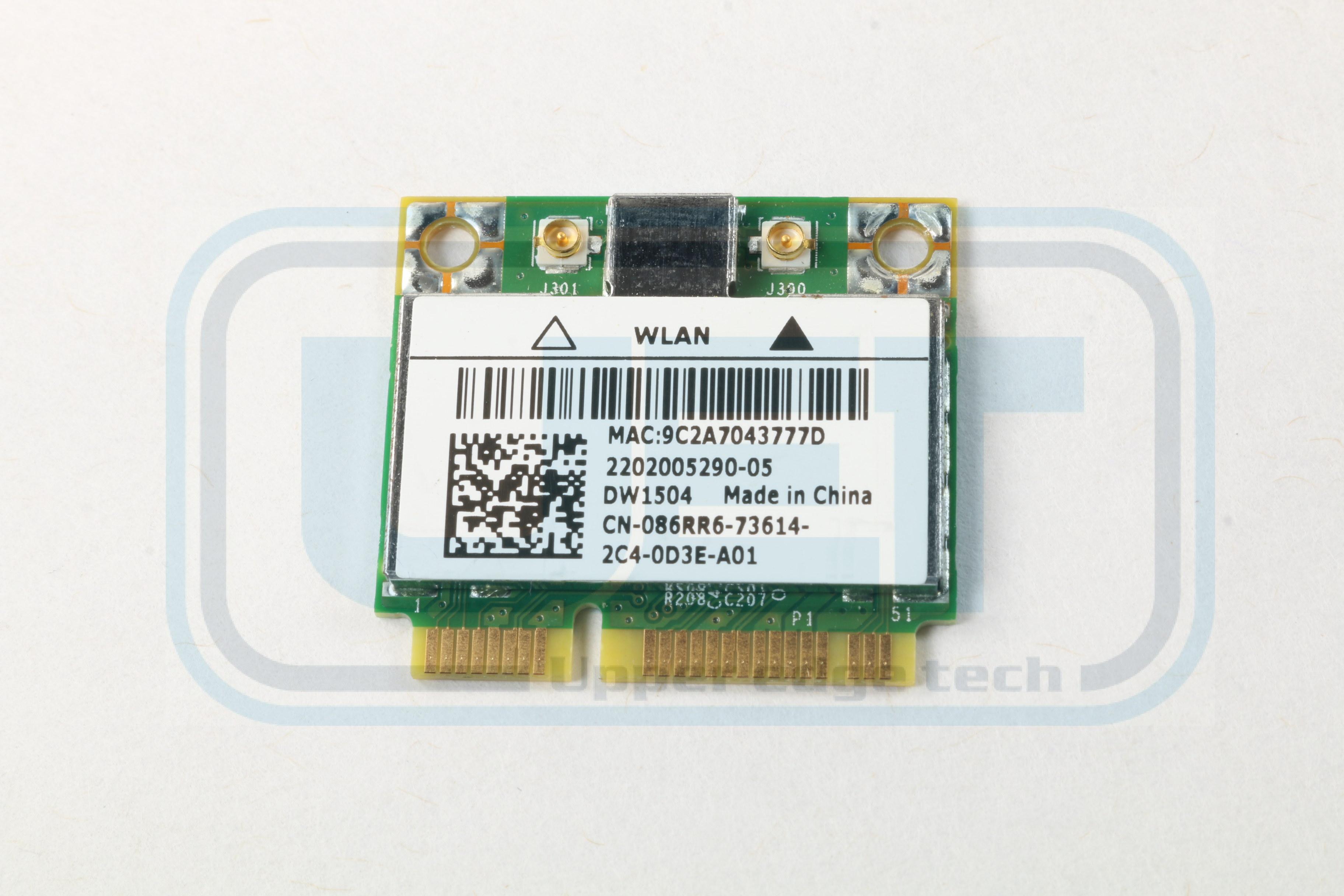Dell Latitude E6320 Wireless WLAN 802.11n Card 86RR6 Mini