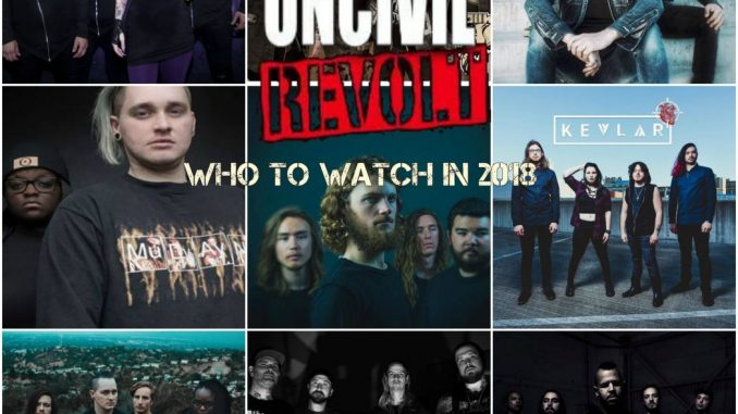 bands to watch 2018