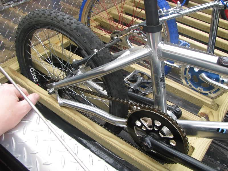 the thirty dollar truck bed bike rack
