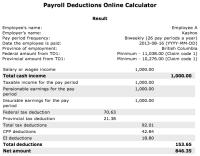 Paycheck Calculator Canada