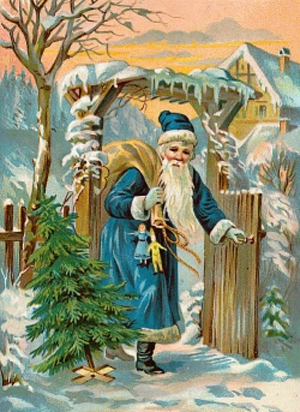 Image result for early santa claus pictures