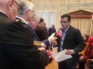 38 take the oath of Canadian citizenship a ceremony in Cobourg