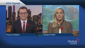 Focus Ontario: Toronto and Queen's Park make nice (23:00)