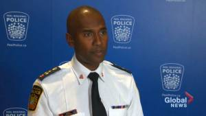 Peel Regional Police Chief Nish Duraiappah speaks with Global News one-on-one