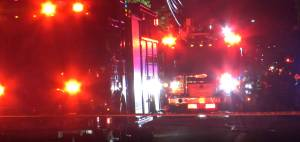 18 displaced, firefighter injured after blaze damages Moncton rooming house