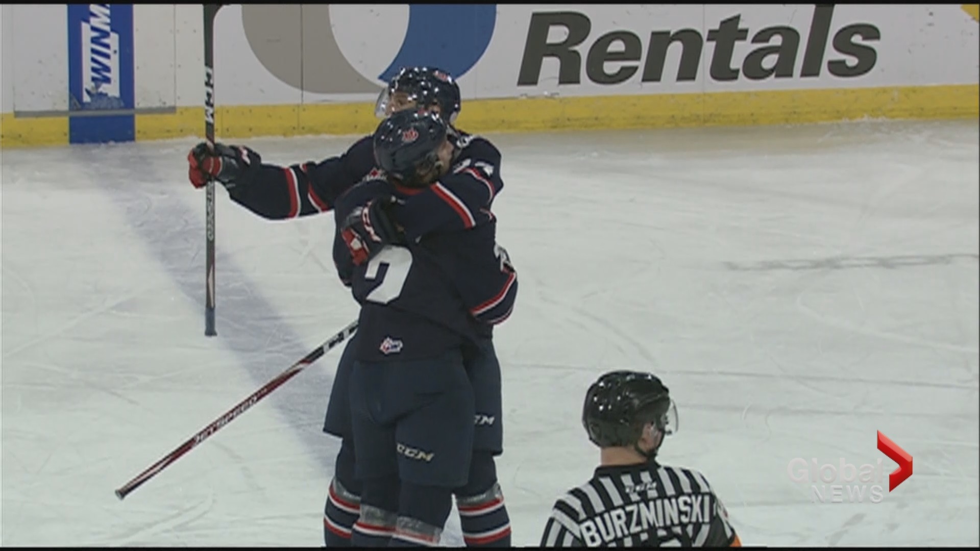 Hurricanes down Pats 2-1 for third straight win