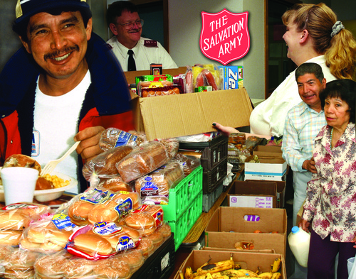 The Salvation Army New Jersey Division  Feeding Programs