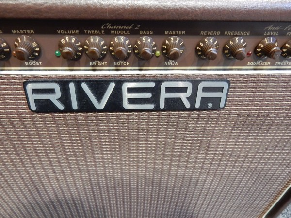 Used Rivera Sedona 55 Acoustic Electric Amp Withcover And