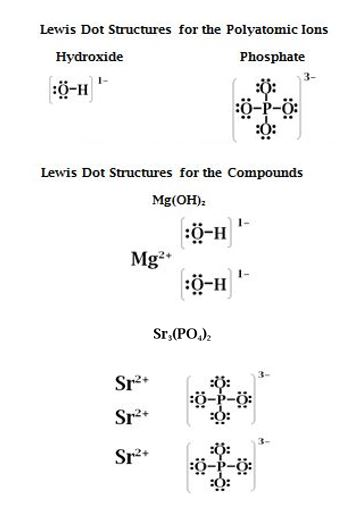 Phosphate Lewis Dot Structure : phosphate, lewis, structure, Electron, Diagrams, Following:, Mg(OH)2, Strontium, Phosphate, ENotes.com