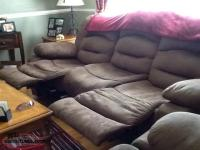 Sofa And Rocker Chair