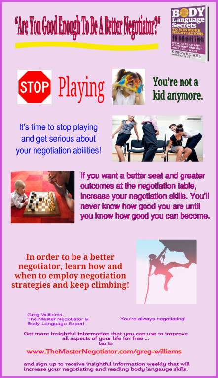 Are You Good Enough To Be A Better Negotiator