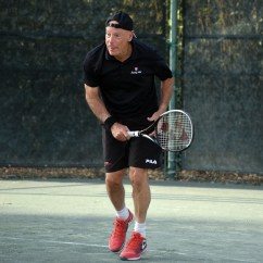Tennis Umpire Chair Hire Covers For Dining Room Chairs Uk Norm Chryst Former Atp Tour Usta Sc Player Of The Year At Age 68 Still Plays 4 5 And Least Four Times A Week Photo