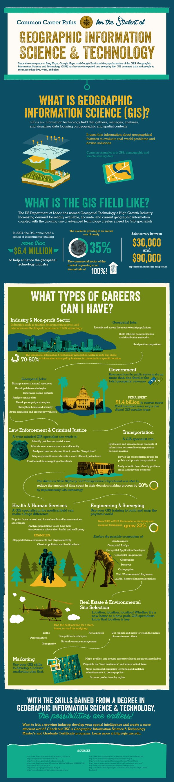 Infographic Information Technology Career