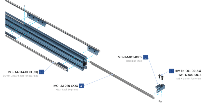 rack and pinion actuator datasheet
