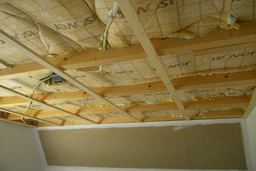 Geluidsisolatie Plafond maken in Appartement prijs